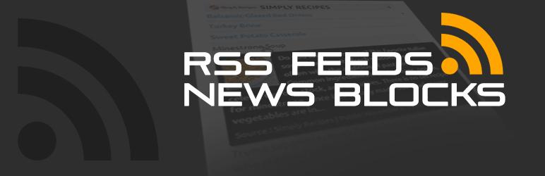 Get RSS FEEDS NEWS BLOCKS PRO